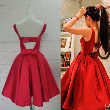 Bg627 Short Homecoming Dress,Red Ho..