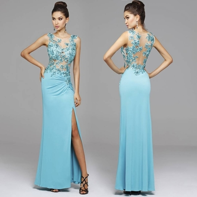 Bg1039 See Though Prom Dress,Prom D..