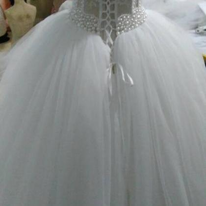 7c12cbba1275 Bg1328 Luxurious Bling Strapless Wedding Dresses,Corset Bodice Sheer ...