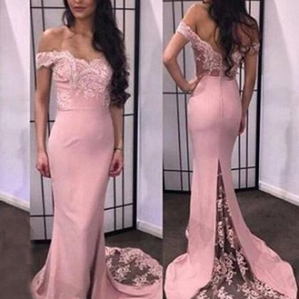 Sexy Prom Dress, Off the Shoulder L..