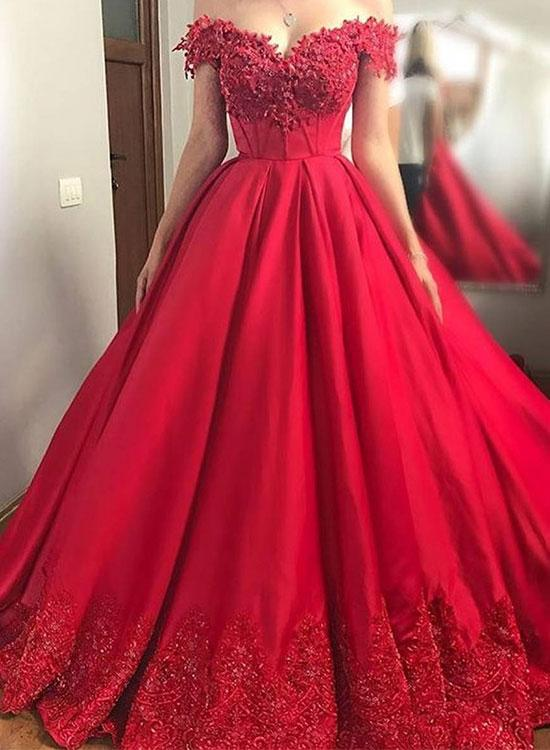 78fb1595b8e Charming Red Prom Dress