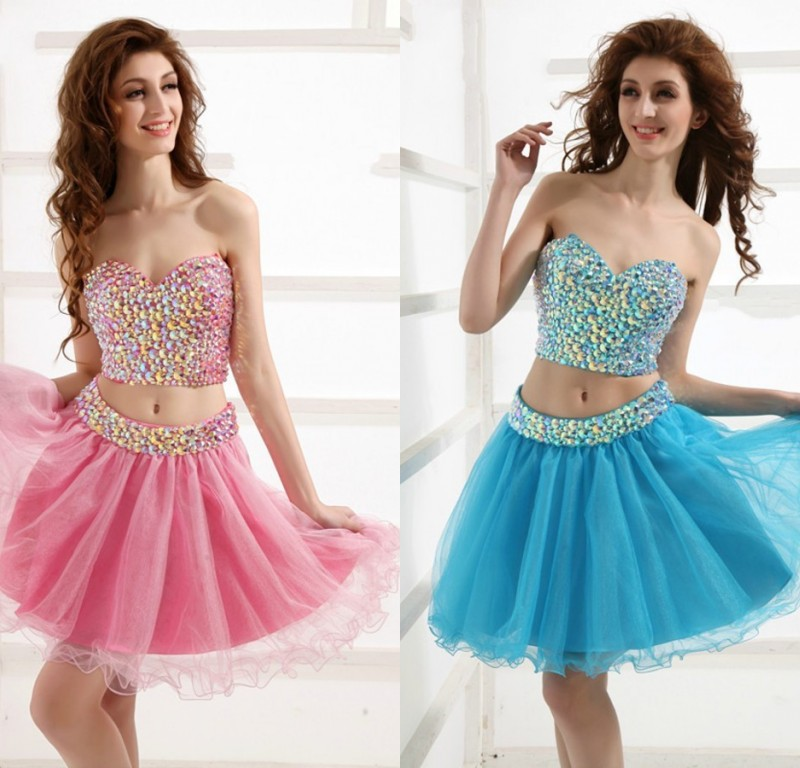 Bg650 Charming Homecoming Dress,Beading Homecoming Dresses,Short ...