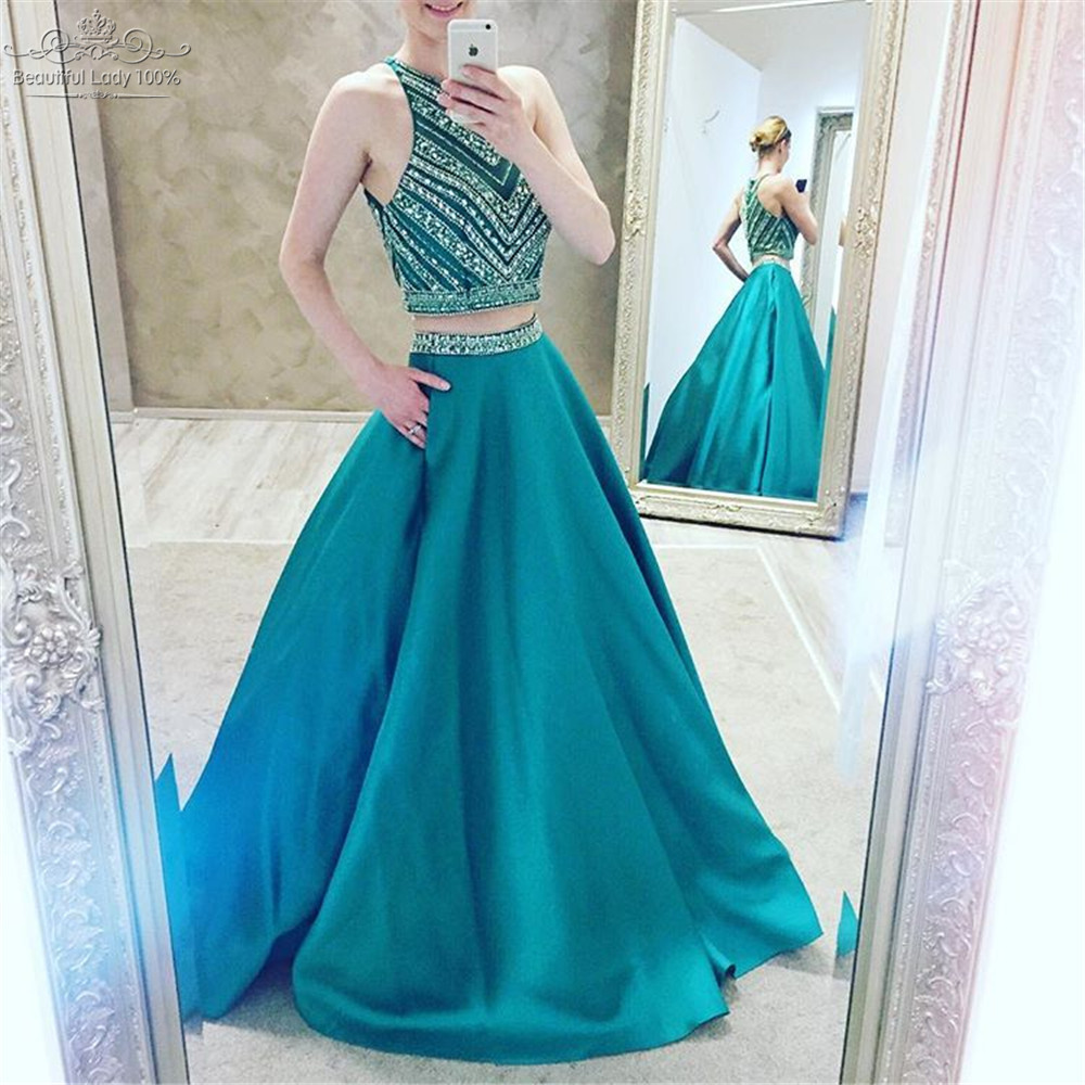 Charming Prom Dress, Two Piece Prom Dress,Sexy Prom Dresses,2 ...