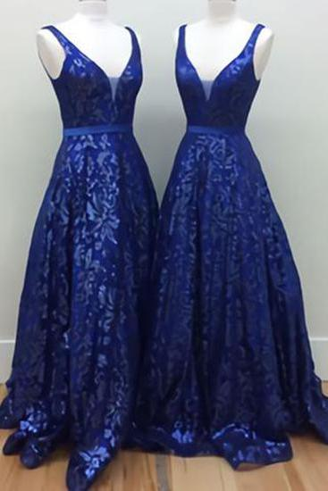Charming Prom Dress, Royal Blue Evening Dress, Elegant Prom Dress, Long Evening Dress, Formal Dress