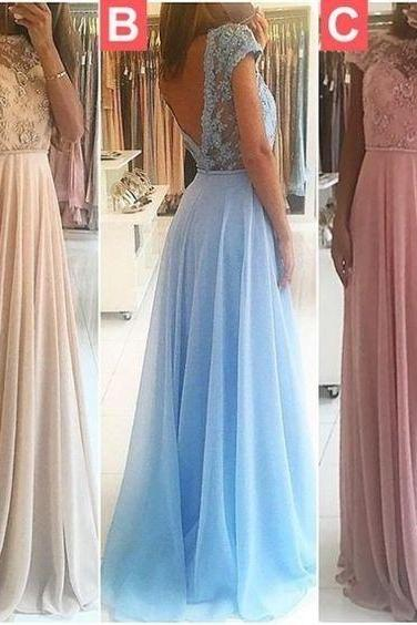 Charming Prom Dress, Elegant Beaded Prom Dresses, A Line Prom Dress, Long Evening Dress, Formal Dress