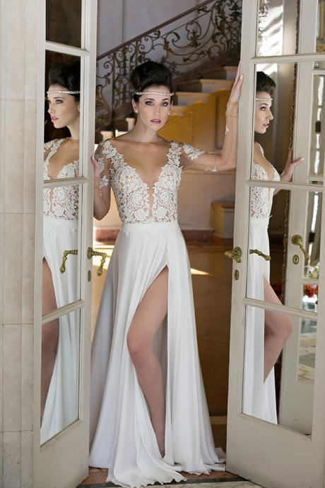Charming Prom Dress, Appliques Prom Dresses, Long Evening Party Dress