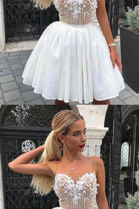 Charming Prom Dress, Cute Tulle Prom Dresses, Short Homecoming Dress