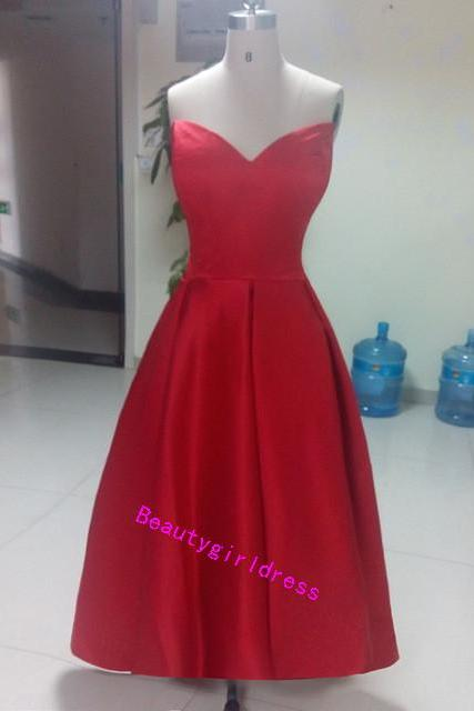 Bg250 Charming Prom Dress,Sweetheart Prom Dresses,Red Prom Dress,Pretty Dress for Prom,Prom Dress 2016,Homecoming Dress
