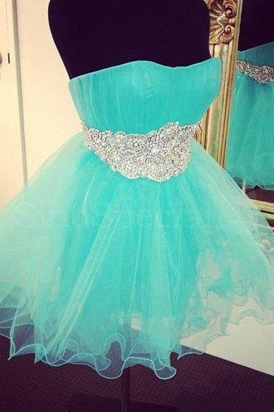 Bg525 New Arrival Short Prom Dress,Beading Prom Dress,Tulle Homecoming Dress