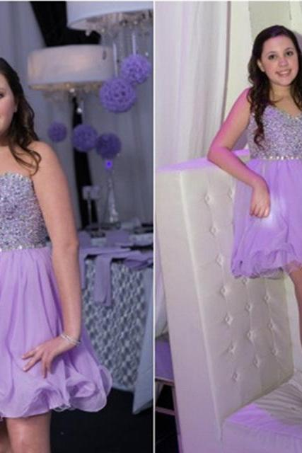 Bg554 Charming Prom Dress,Short Prom Dress,Tulle Prom Gown,Pretty Party Dress,Beading Homecoming Dress