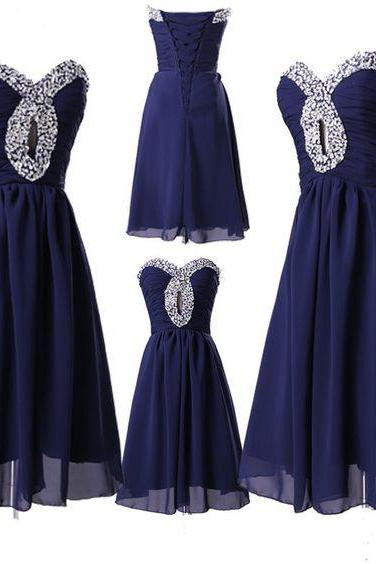 Bg739 Charming Prom Dress,Short Prom Dress,Beading Prom Dress,Chiffon Prom Dress