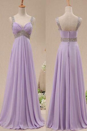 Bg904 Custom Bridesmaid Dress,Handmade Prom Dress,Sleeveless Prom Dresses,Chiffon Prom Dress