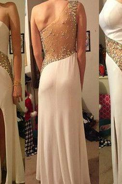 Bg9367 One Shoulder Prom Dress,Charming Prom Dress,Chiffon Prom Dress,Sexy Prom Dresses,Long Evening Dress,Prom Gown,Evening Gown