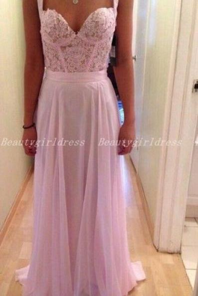 Bg1030 Pink Prom Dress,Chiffon Prom Dress,Elegant Prom Dress,Long Dress for Prom
