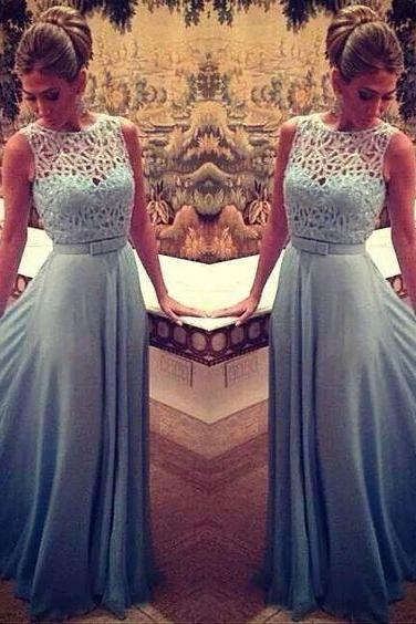 Fashion Sleeveless Prom Dress,New Arrival Long Prom Dress,2017 Evening Dress,Formal Dress,Occasion Dress