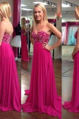 Charming Prom Dress, Sexy Prom Dresses,Long Prom Dress,Backless Chiffon Prom Dress, Evening Dress