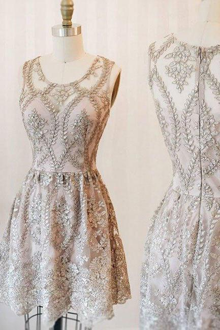 Elegant Prom Dress,Sexy Prom Dress,Cute Prom Gown, Party Dress,Zipper Back Prom Party Gown