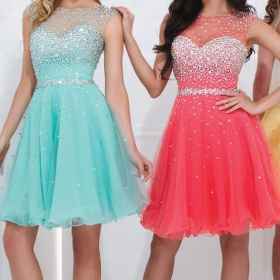Bg588 Charming Prom Dress,Tulle Prom Dress,Short Prom Dress,Beading Prom Dress,Pretty Girl Dress,Homecoming Dress