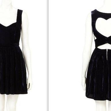 Charming Prom Dress,Black Prom Dress,Short Homecoming Dress